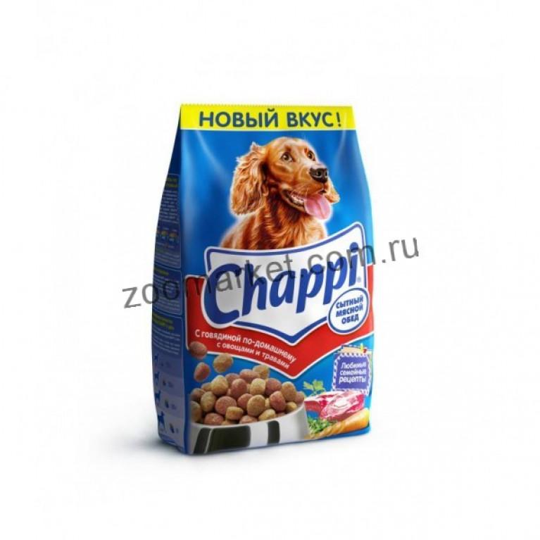 Chappi Сухой корм для собак (Говядина по-домашнему)