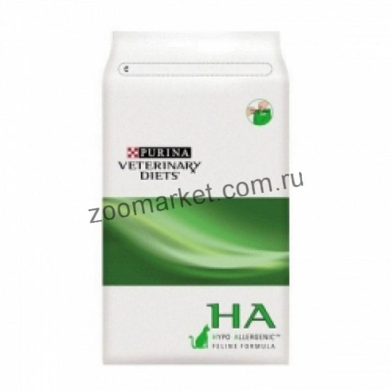 Purina Veterinary Diets HА/Лечебный сухой корм для кошек (профилактика аллергии)