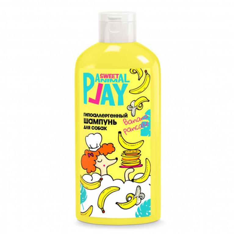 Animal Play Sweet Банановый панкейк шампунь гипоаллергенный для собак, 300мл