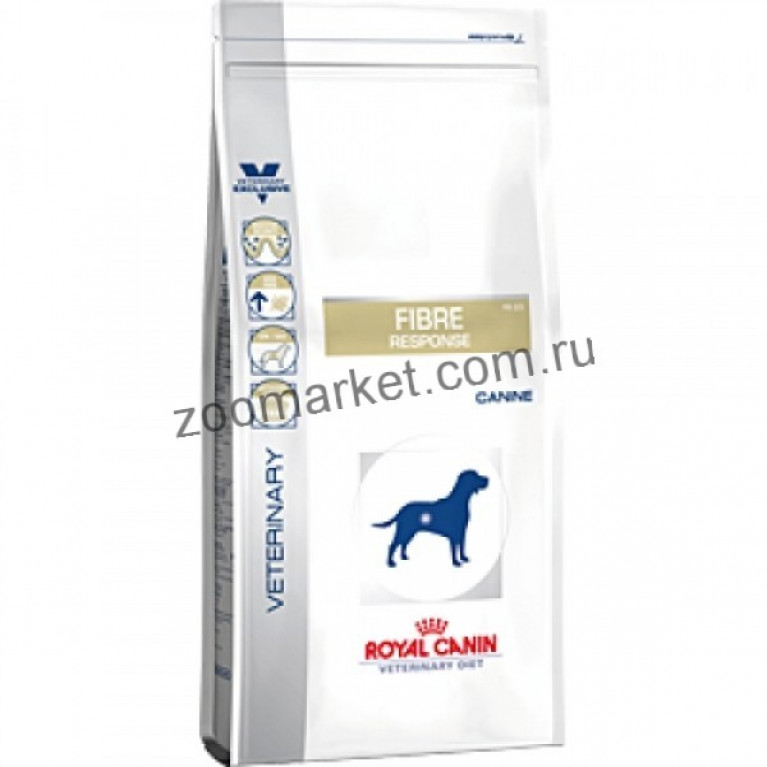 Royal Canin Fibre Response FR23/Для собак при запоре, диарее, колите. 2 кг