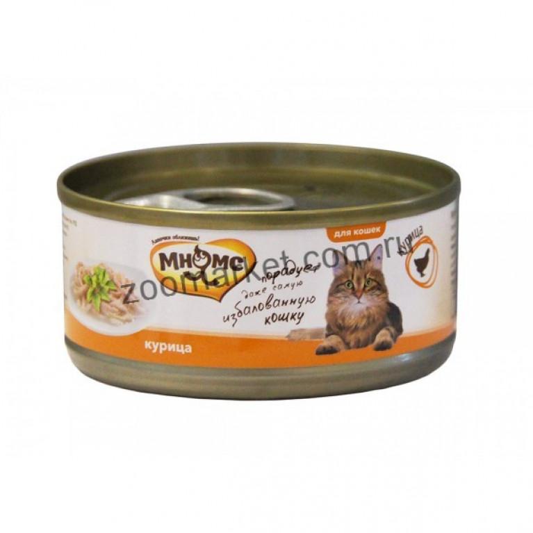 Мнямс Консервы для кошек (Курица в нежном желе) 70 гр