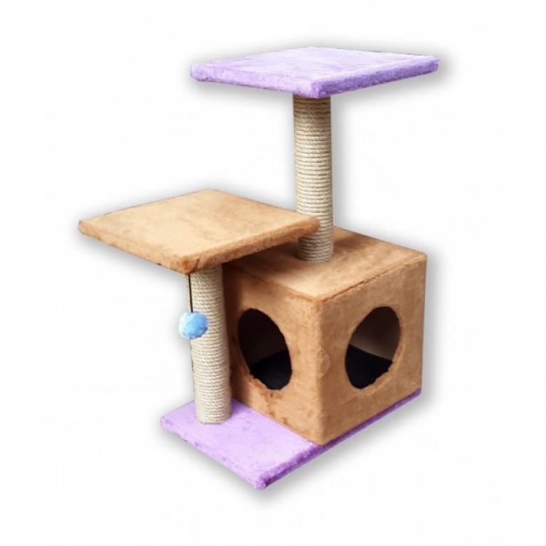 Когтеточка-домик для кошек KD009