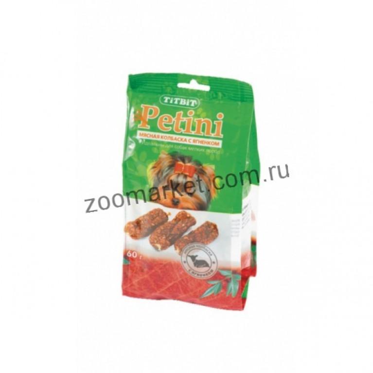 TiTBiT Petini Колбаски с ягненком, пакет 60г