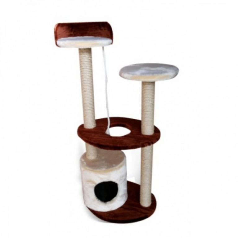 Когтеточка-домик для кошек KD060