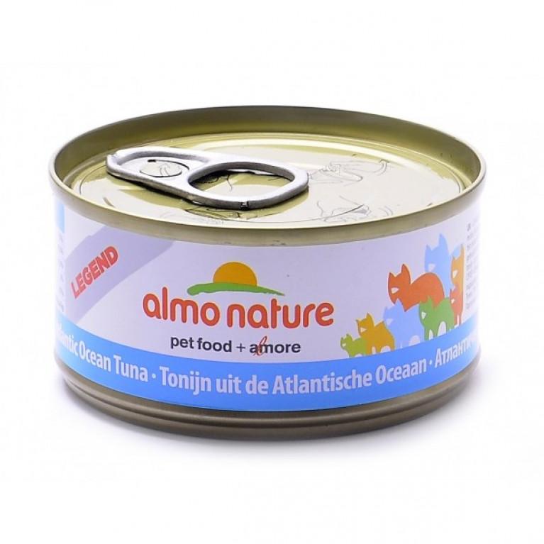 Almo Nature Legend HFC Adult Cat Atlantic Tuna консервы для кошек с атлантическим тунцом, 75% мяса  85 г