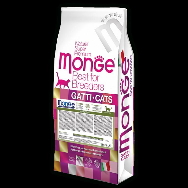 Monge Cat Speciality Line Sensitive корм для кошек с чувствительным пищеварением
