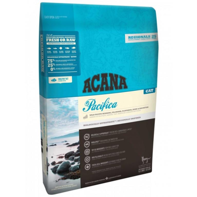 Acana PACIFICA for cats/Сухой корм для кошек и котят всех пород на основе рыбы