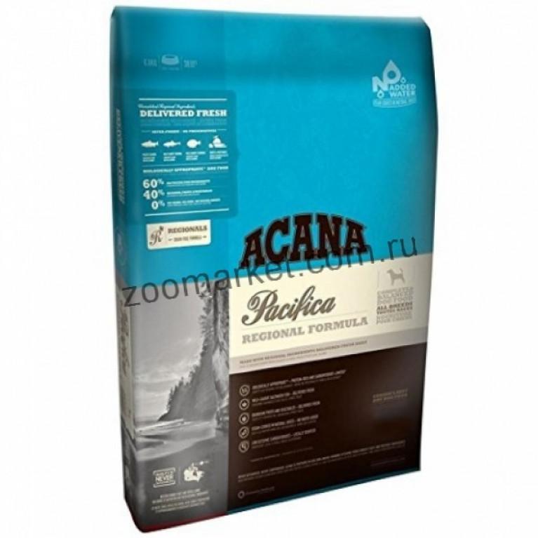 Acana Pacifica Dog Беззерновой корм для собак всех пород и возрастов (морская рыба)