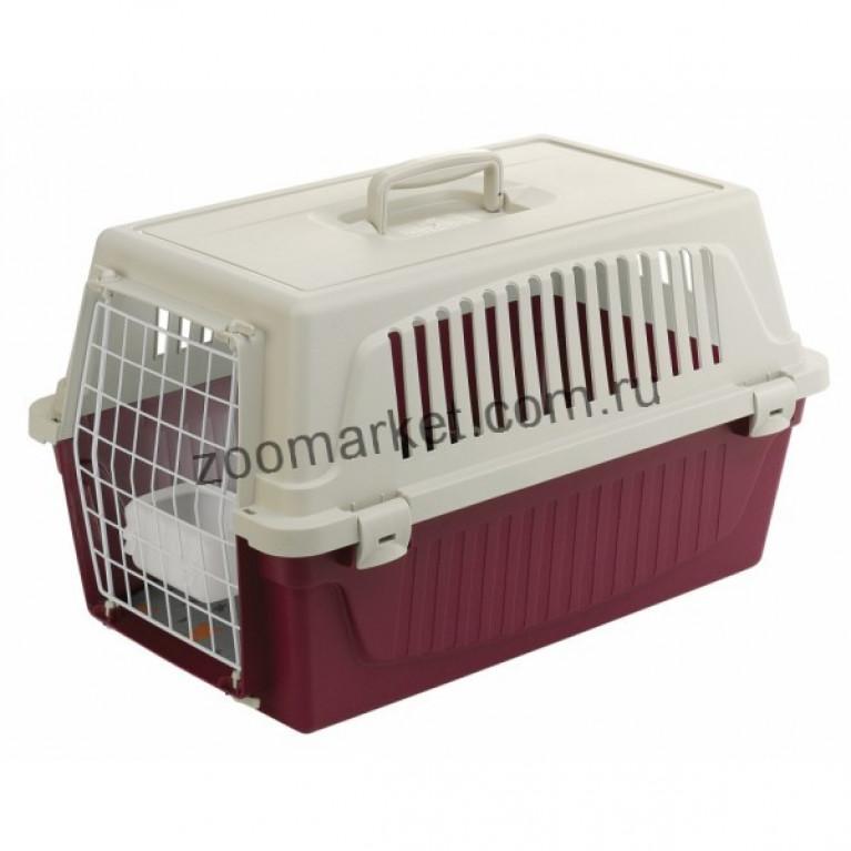 Ferplast Holiday Atlas 20 Переноска для кошек и мелких собак (кормушка, матрац, метал.дверь)