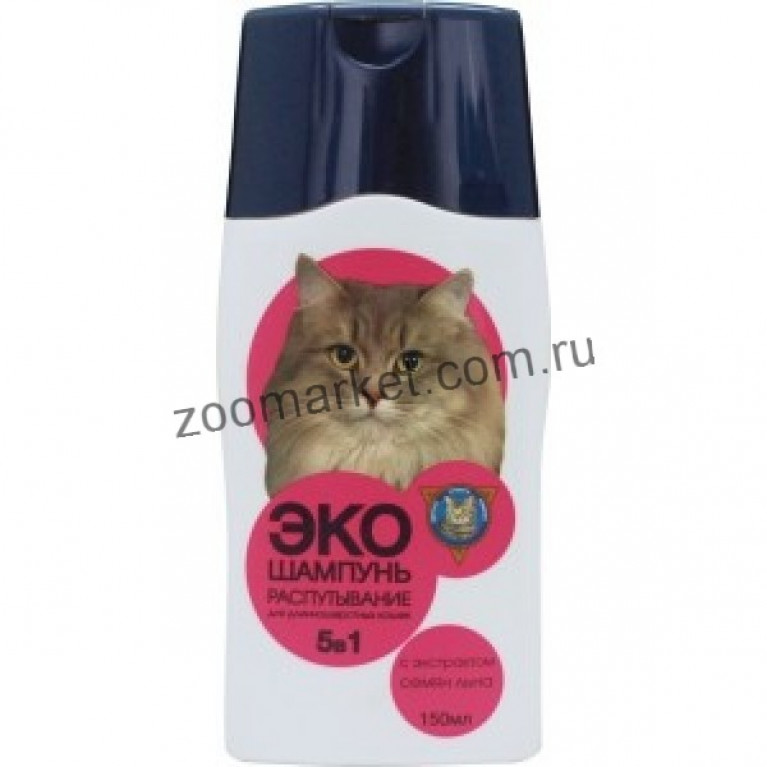 Барсик-ЭКО Шампунь для кошек Распутывающий 150мл