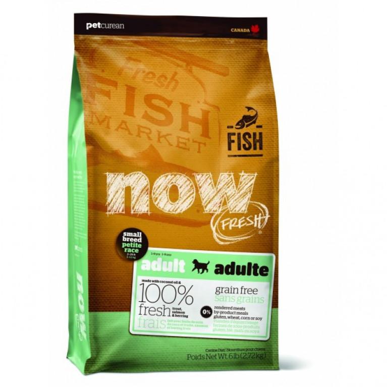 NOW Natural holistic беззерновой для малых пород всех возрастов с форелью, лососем и овощами, Fresh Small Breed Recipe Fish Grain Free
