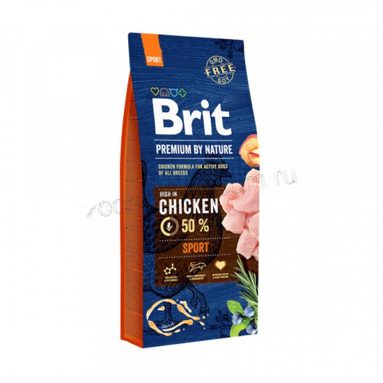 Brit Premium Sport/Полноценный корм для собак с повышенными физическими нагрузками