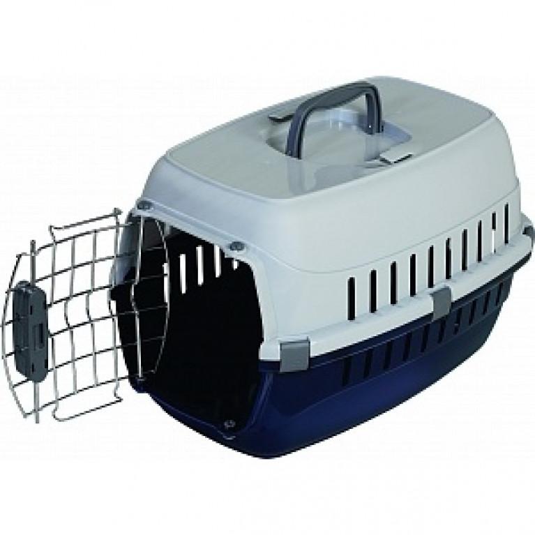 Moderna Т103-329 переноска для собак и кошек до 5 кг с металлической дверью, пружинным замком