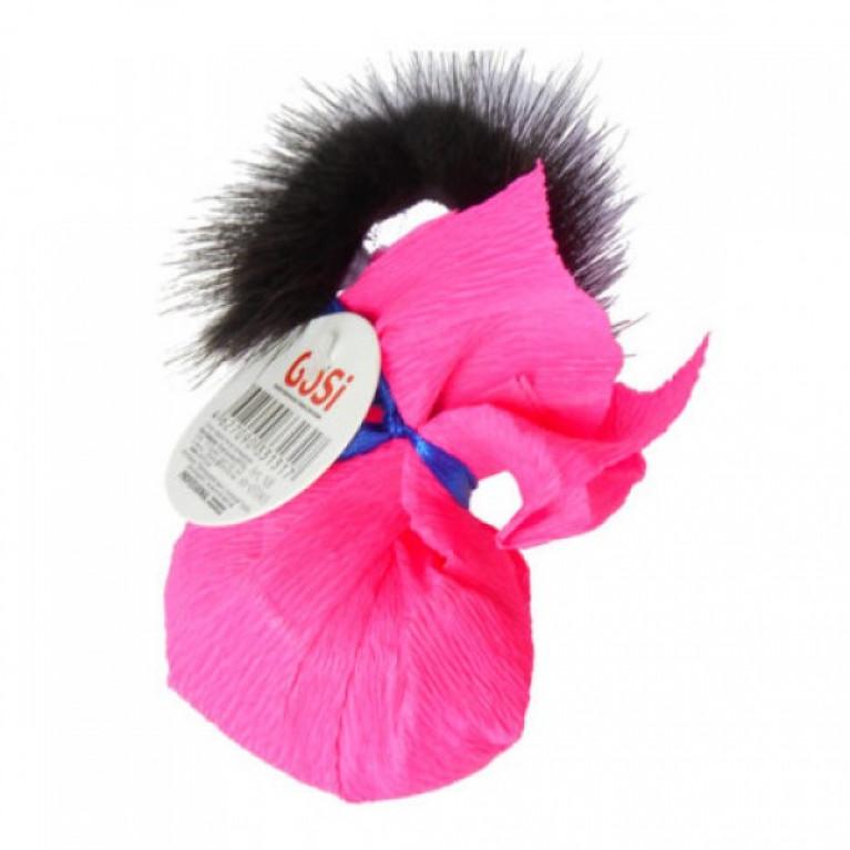 GoSi Игрушка Шуршаший шар с норкой зенящий с кошачей мятой