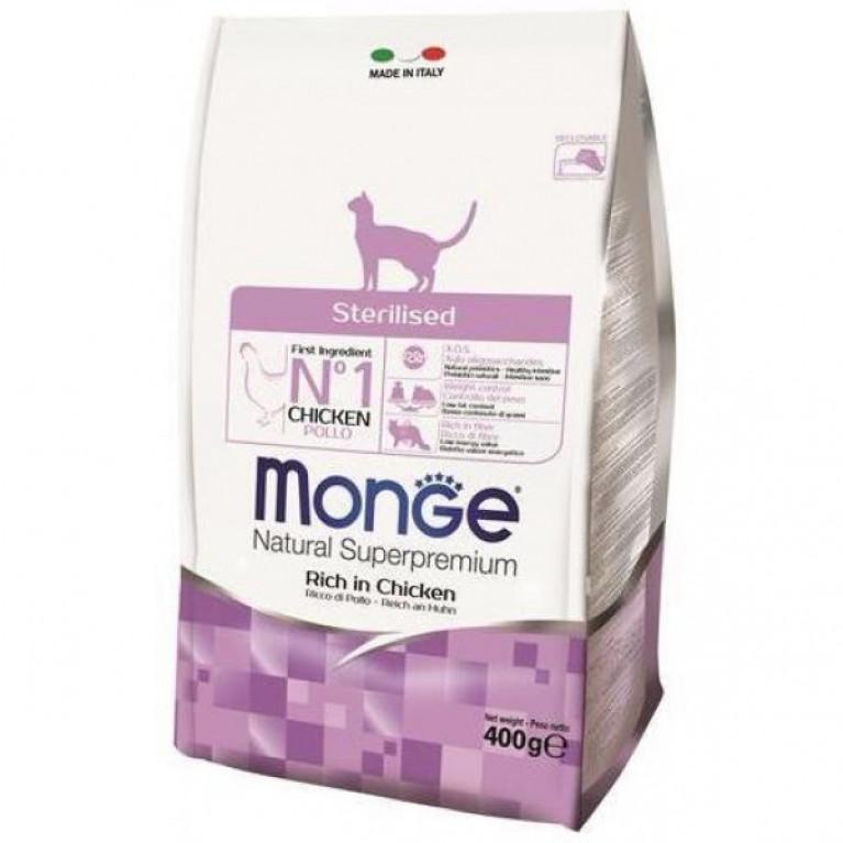 Monge Cat Sterilized Сухой корм для стерилизованных кошек