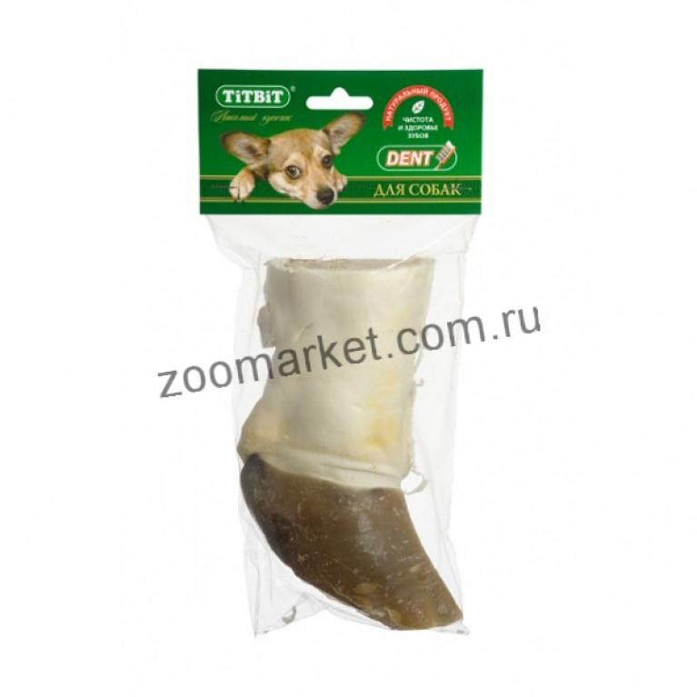 TiTBiT Лакомство Нога говяжья резаная, мягкая упаковка