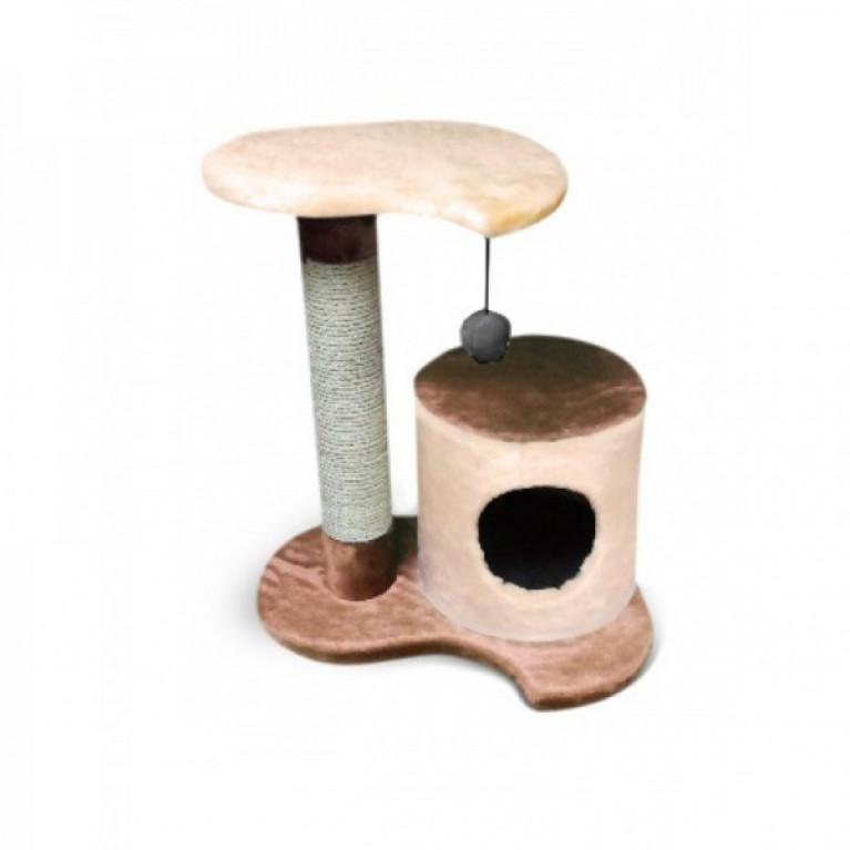 Когтеточка-домик для кошек KD072