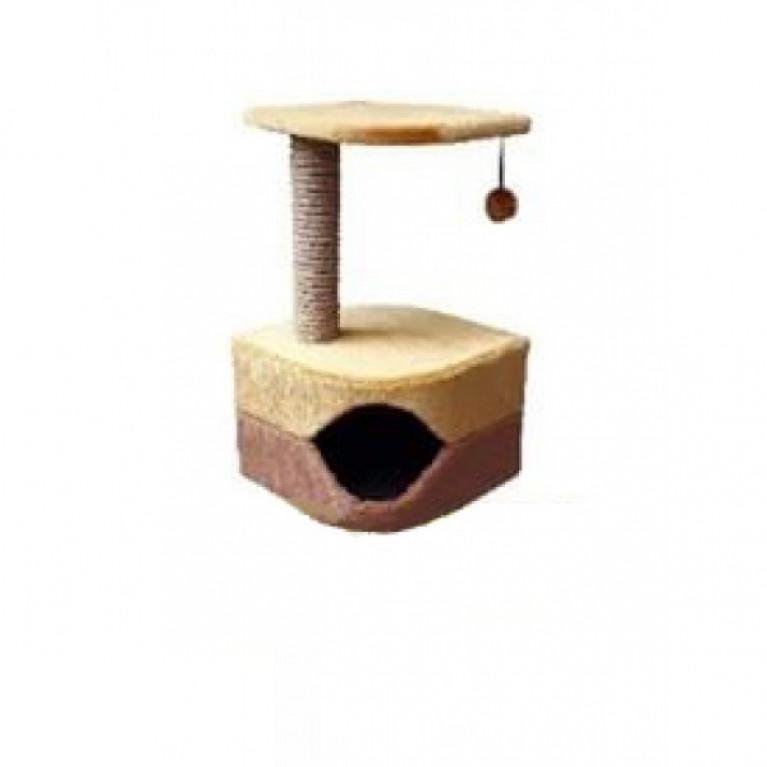 Когтеточка-домик для кошек KD064