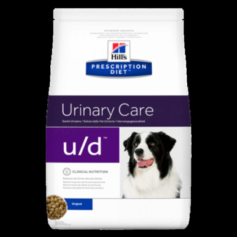Hill's Prescription Diet U/D Сухой корм для собак лечение МКБ и заболеваний почек 5кг