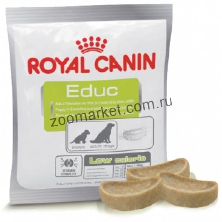 Royal Canin Educ/Лакомство-поощрение при обучении и дрессировке для щенков и собак, 50 гр