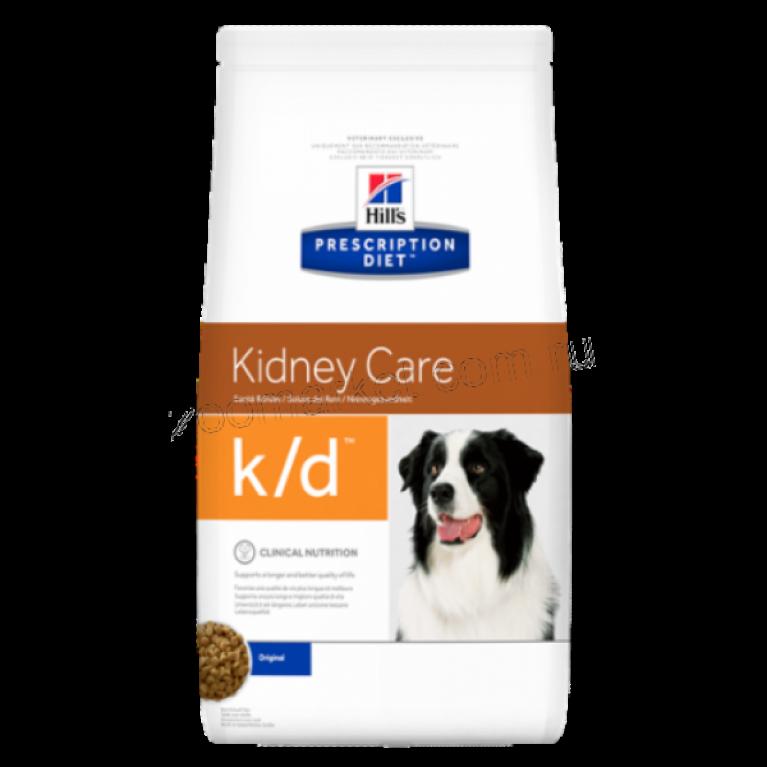 Hill's Prescription Diet K/D Сухой корм для собак лечение заболеваний почек
