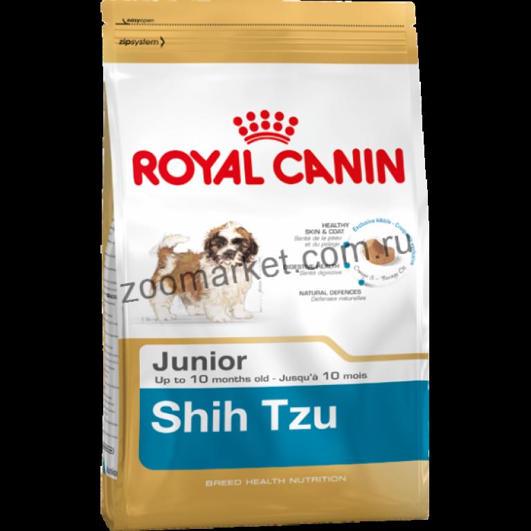 Royal Canin Shih Tzu Junior/Корм для щенков породы ши-тцу в возрасте до 10 месяцев, 500 гр