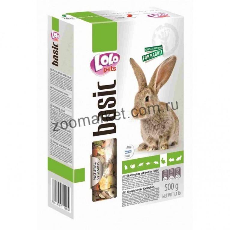 Lolopets Полнорационный корм для кролика