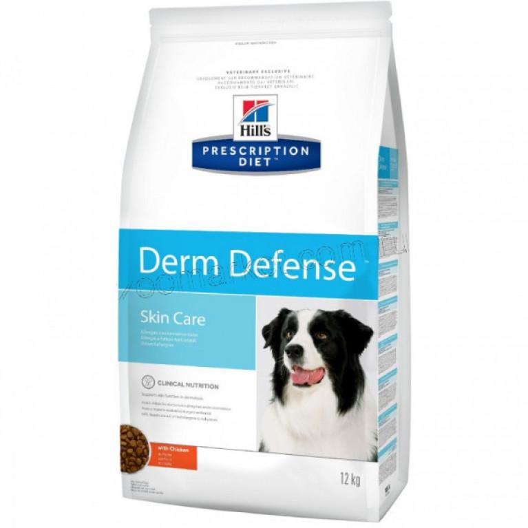 Hill's Prescription PD Derm Defense Диетический корм для собак для Защиты Кожи