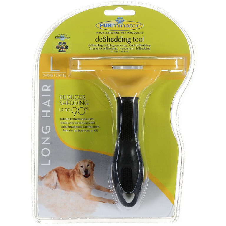 Фурминатор для собак самоочищающийся 10 см