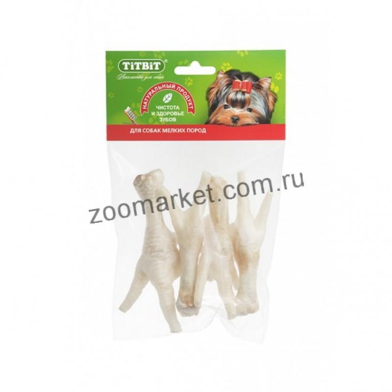 TiTBiT Лакомство Лапки куриные, мягкая упаковка