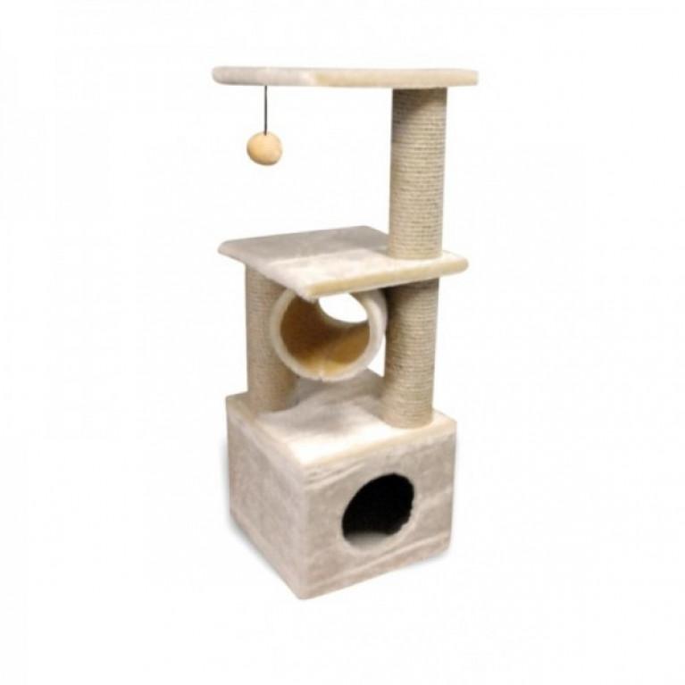 Когтеточка-домик для кошек KD023