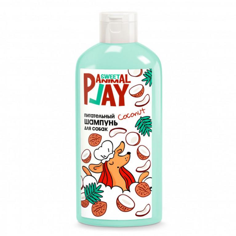 Animal Play Sweet Ямайский кокос питательный шампунь для собак, 300мл