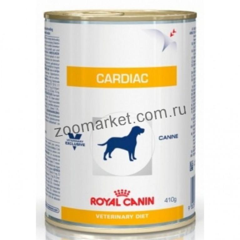 Royal Canin Cardiac/Консервы для собак при сердечной недостаточности, 410 гр