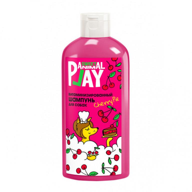 Animal Play Sweet Вишневый пай витаминизированный шампунь для собак, 300мл