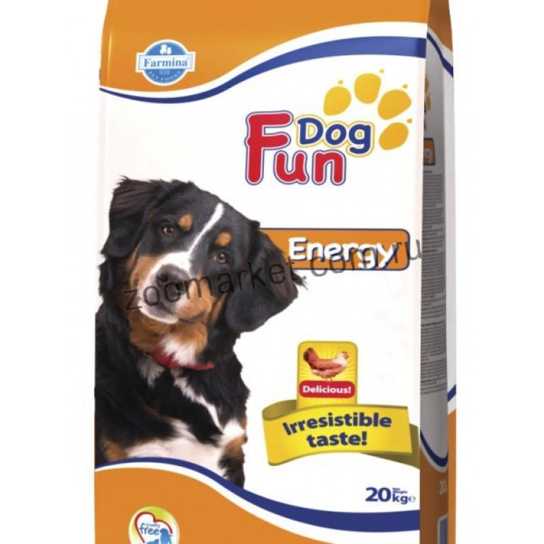 Farmina FUN Dog Energy/Полнорационный и сбалансированный корм для взрослых собак 20 кг