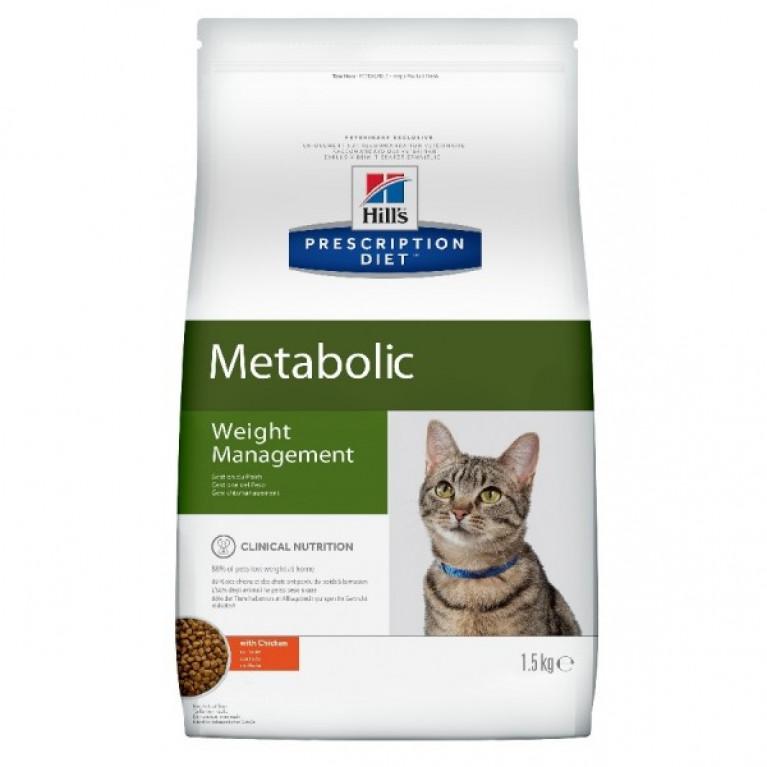 Hill's Prescription Diet Metabolic Сухой корм кошек для коррекции веса