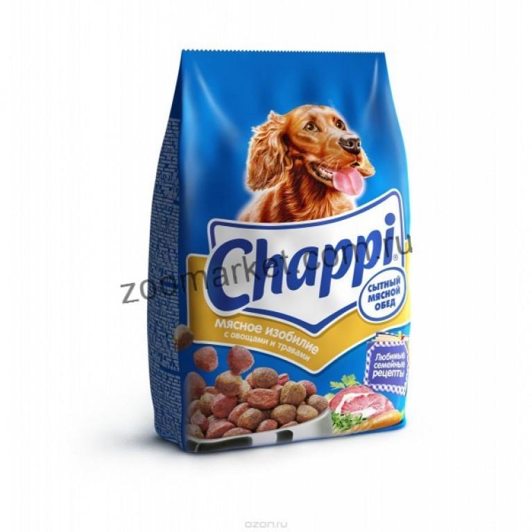 Chappi Сухой корм для собак (мясное изобилие)