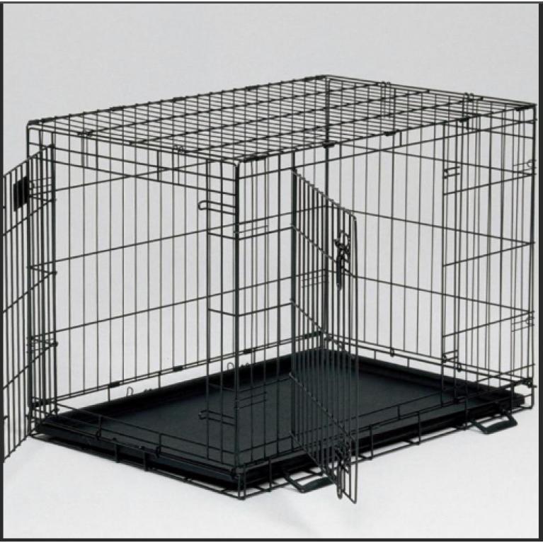 Клетка для собак (2 двери)