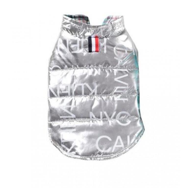 Куртка Calvin Klein серебристая