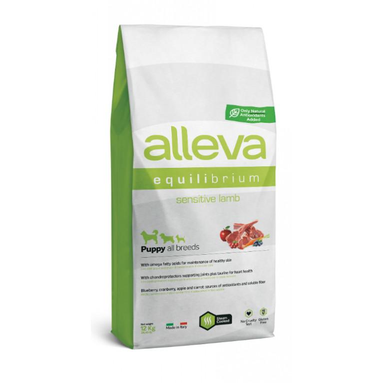 Alleva Equilibrium Sensitive  сухой корм для щенков всех пород (Ягненок)