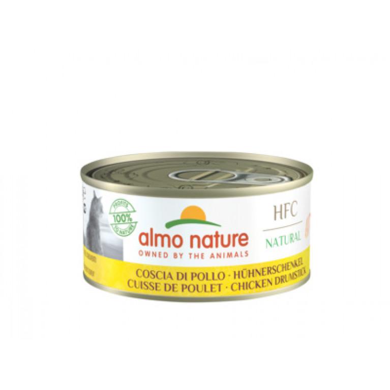 "Almo Nature Classic HFC Adult Cat Chicken Drumstick Консервы для кошек ""Аппетитные куриные бёдрышки"" 70г"