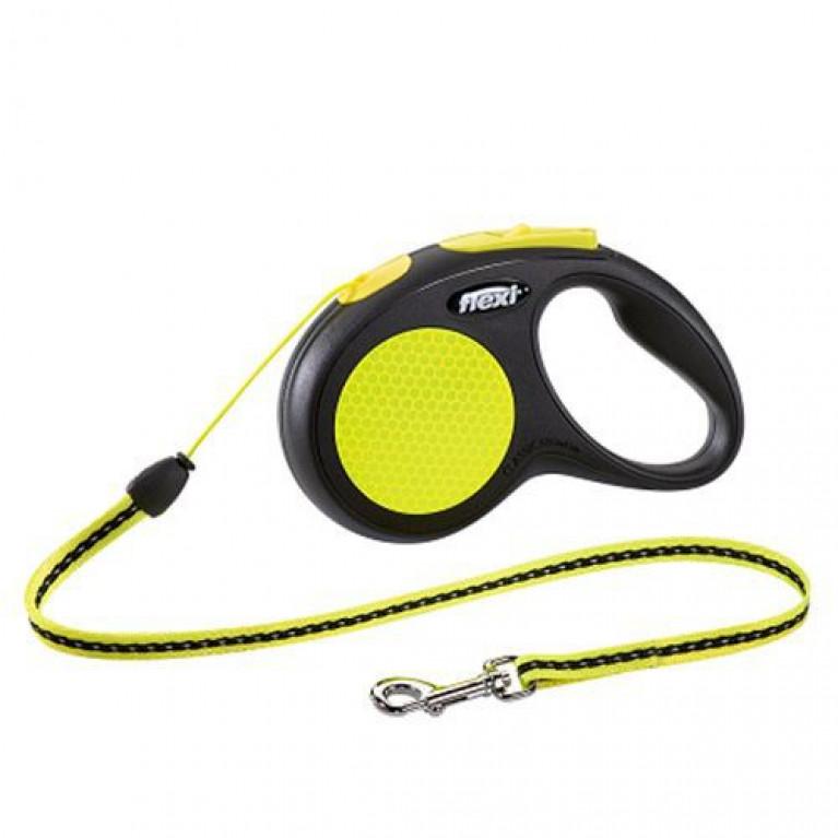 Flexi New Comfort XS Поводок-рулетка трос 3 метра для собак 12 кг