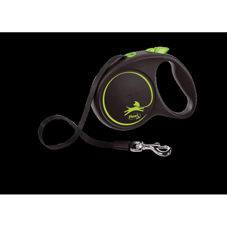 Flexi Design S Поводок-рулетка лента 5 метров для собак до 15 кг