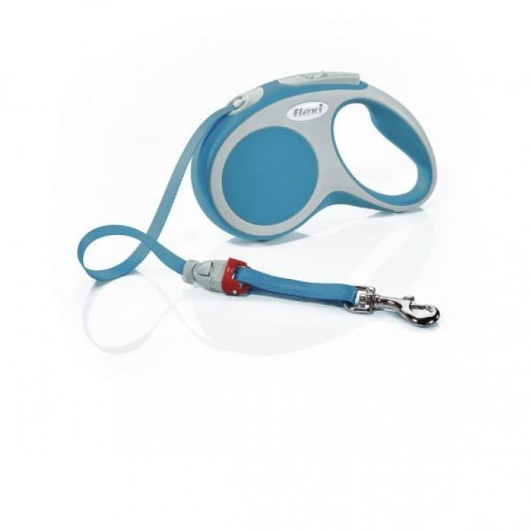 Flexi VARIO L Поводок-рулетка ремень 8 метров для собак до 50 кг Бирюзовая