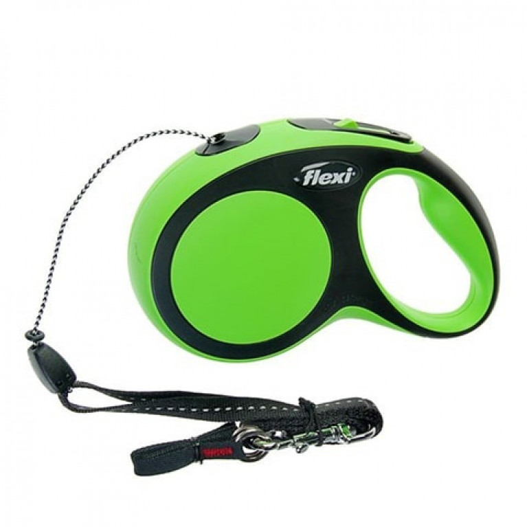 Flexi New Comfort М Поводок-рулетка ремень 5 метров для собак до 25 кг