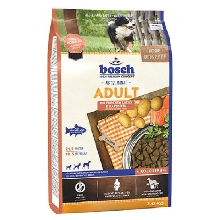 Bosch Adult  для взрослых собак всех пород с лососем и картофелем
