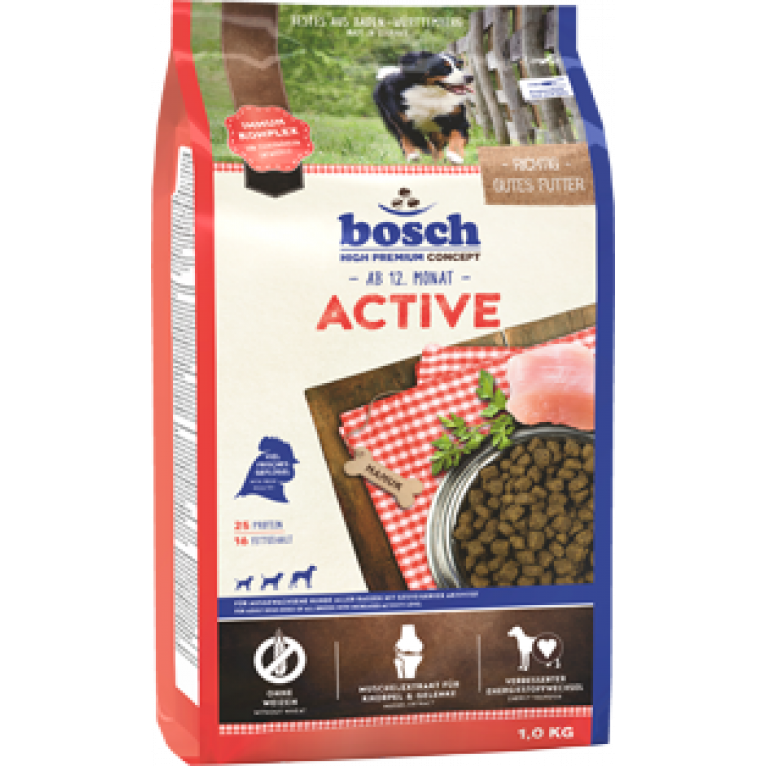 Bosch Active для взрослых собак активных пород