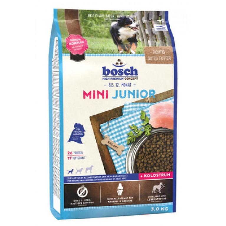 Bosch Mini Junior для щенков малых пород с мясом птицы
