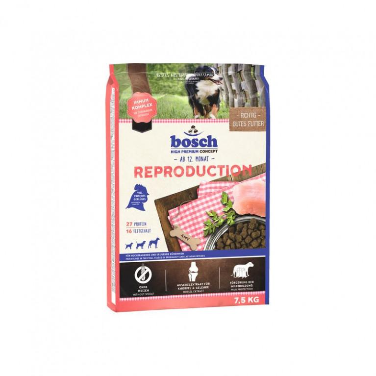 Bosch Reproduction для беременных (с 5-ой недели) и кормящих сук с мясом домашней птицы 7,5 кг