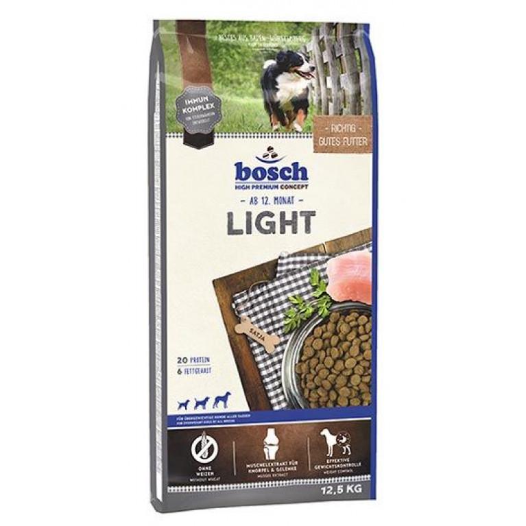 Bosch Light для взрослых собак склонных к полноте или с избыточным весом с мясом птицы 12.5 кг